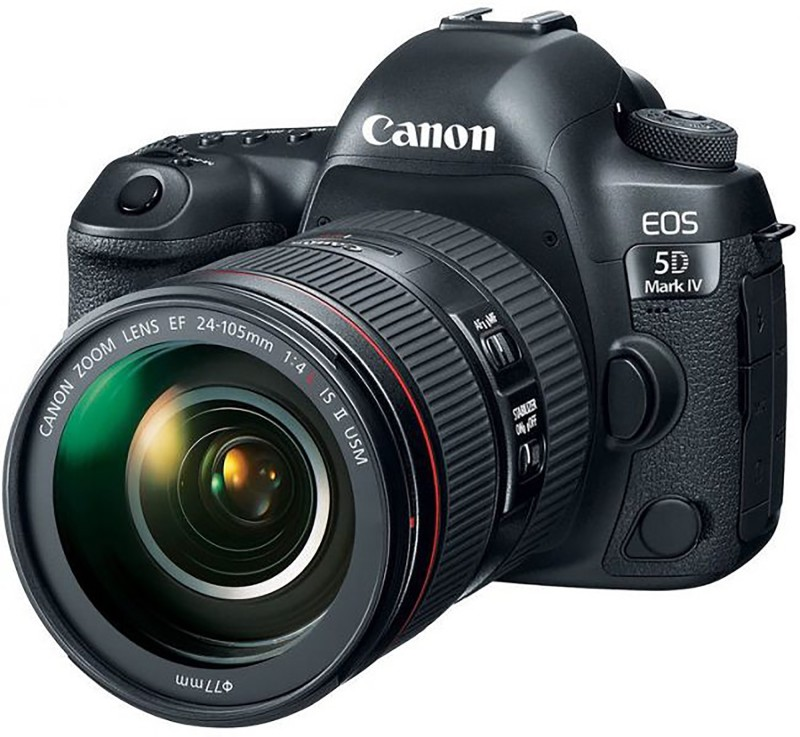 Canon EOS 5D Mark IV DSLR Camera Body withᅠEF 24-105mm...