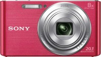 Sony DSC-W830 Point & Shoot Camera(Pink)
