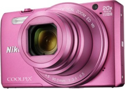 Nikon Coolpix S7000 Point & Shoot Camera(Pink)