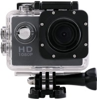 Wonder World     Sports Action Waterproof Camcorder 1080P mini HD Cam Holder Sports & Action Camera(Black)