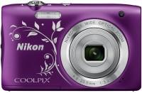 Nikon Coolpix A100 Point & Shoot Camera(Purple)