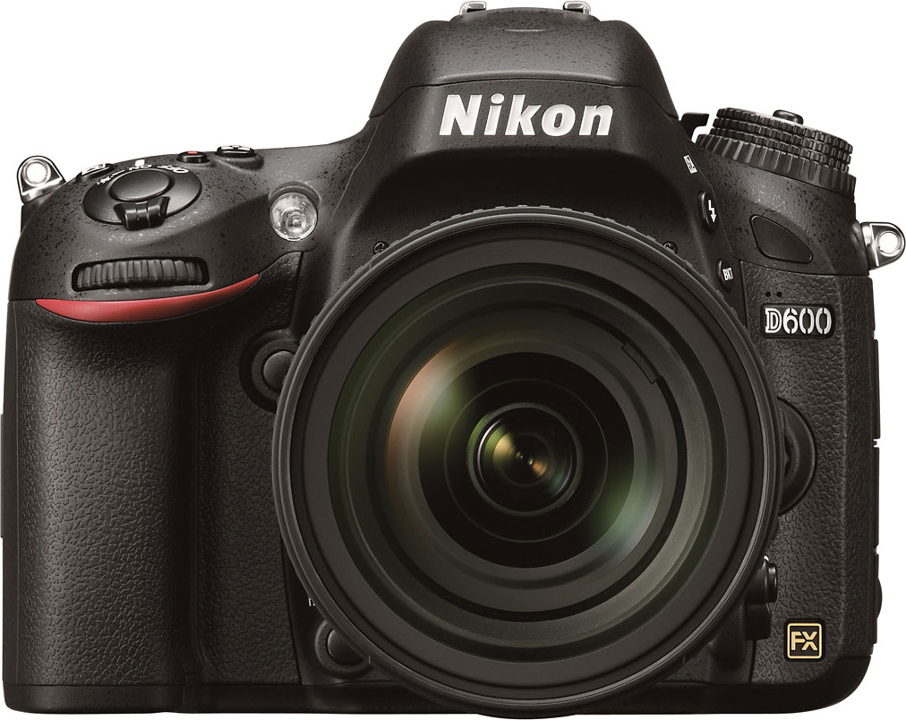 Nikon D600 DSLR Camera (Body only)(Black)