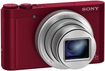 Sony DSC-WX500/RCE32 Camera Point & Shoot Camera(Red)