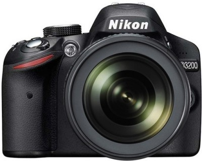 Nikon D3200 (Body with AF-S 18-105 mm VR Lens) DSLR Camera(Black)
