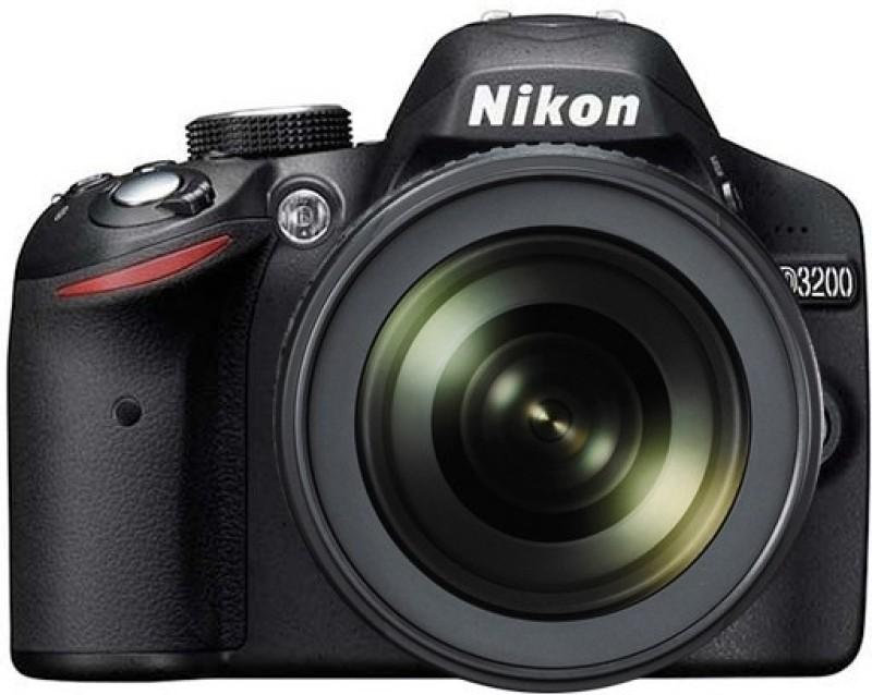nikon d3200 dslr camera 18-105 vr lens kit 24.1 megapixels 4-gb brand new sealed