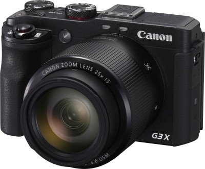 Canon G3 X Point & Shoot Camera(Black)