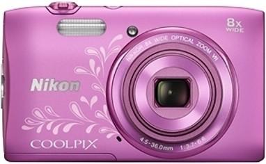 Nikon S3600 Point & Shoot Camera(Pink)