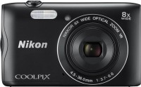 Nikon Coolpix A300 Point & Shoot Camera(Black)