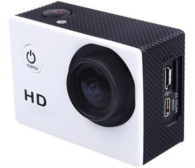 Opta SDVCAM01 Body Only Sports & Action Camera(White)