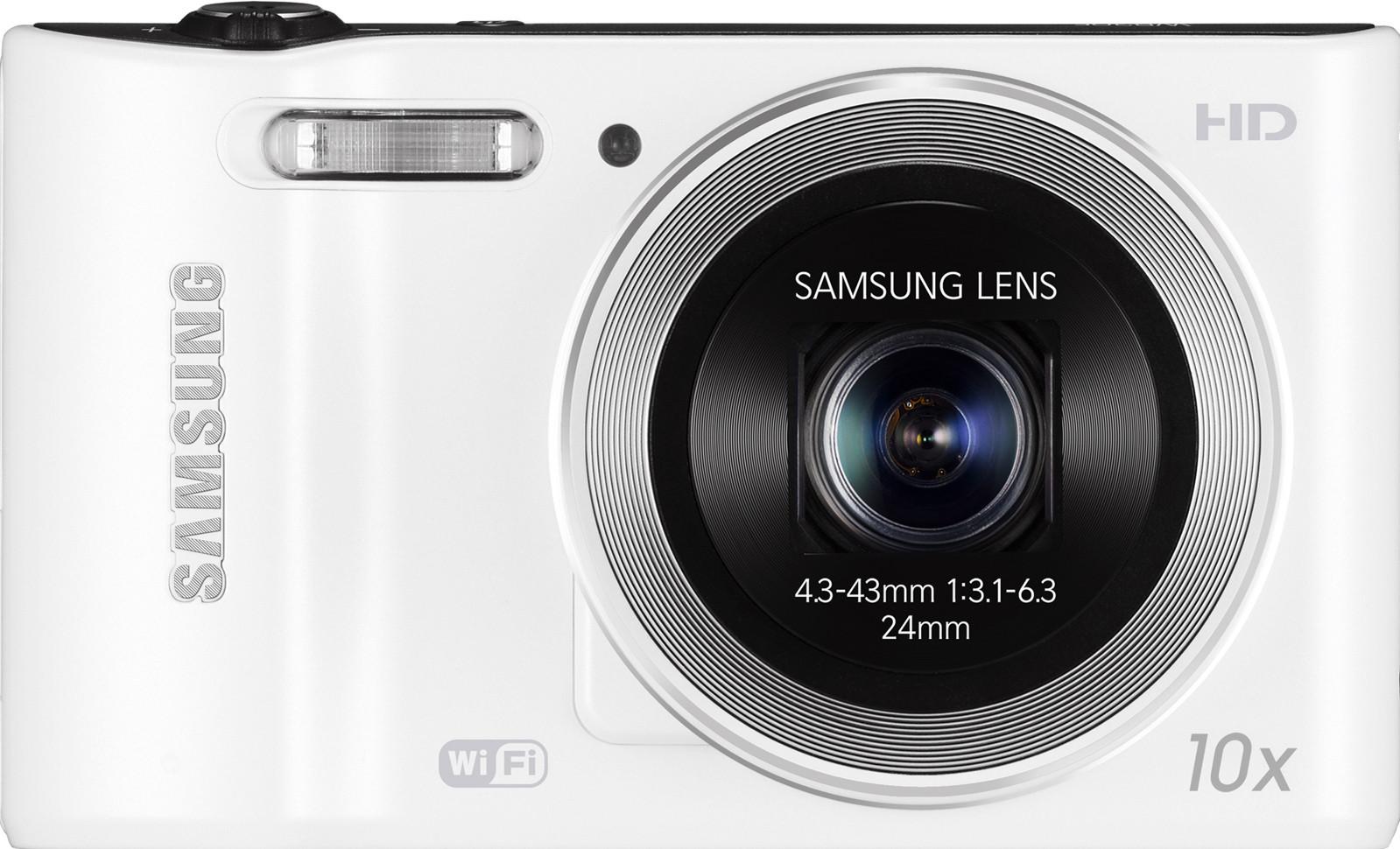 SAMSUNG WB30F Point & Shoot Camera(White)