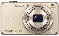 Sony DSC-WX220/NC E32 Point & Shoot Camera(Gold)