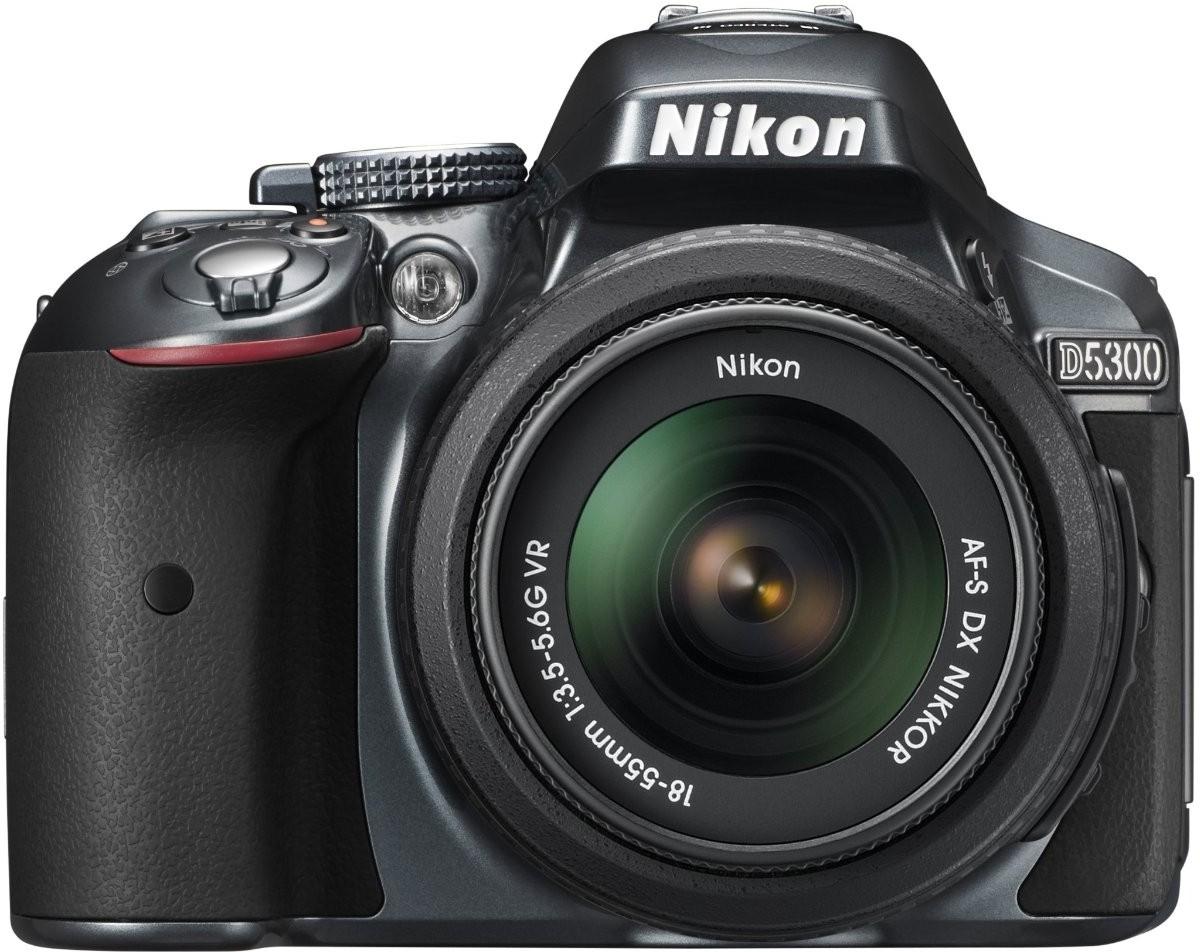 Nikon D5300 DSLR Camera (Body only)(Grey)