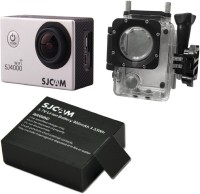 SJCAM Sjcam 4000 Sj _14 Sjcam 4000 Wifi black +1Battery Sports & Action Camera(Black)