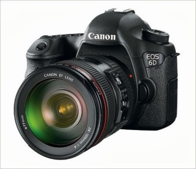 Canon EOS 6D (Kit 24 - 105) DSLR Camera(Black)