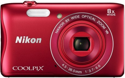 Nikon Red S3700 Coolpix Camera Mirrorless Camera