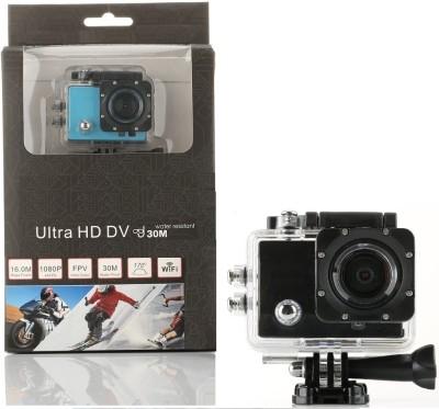 "Wonder World â""¢ Full HD Cam Holder Sports & Action Camera(Black)"