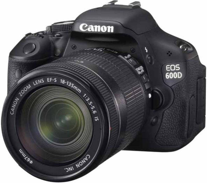Canon EOS 600D (Body with EF-S 18-135 mm IS II Lens) (Body with EF-S 18-135 mm IS II Lens) DSLR Camera EOS 600D (Body with EF-S 18-135 mm IS II Lens)