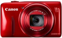 Canon SX600 HS Point & Shoot Camera(Red)