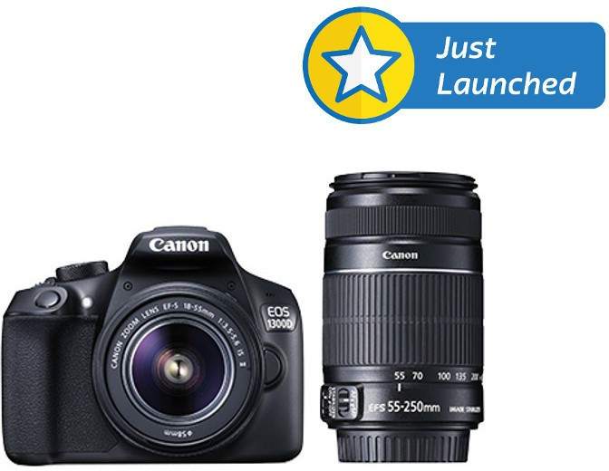 Deals - Gwalior - From Rs.22,999 <br> Canon 1300D DSLR Camera<br> Category - cameras_and_accessories<br> Business - Flipkart.com