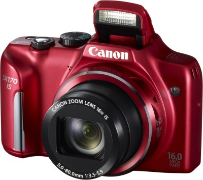 Canon PowerShot SX170 IS Advanced Point & Shoot Camera