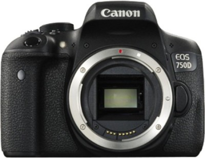 Canon EOS 750D (Body only) DSLR Camera(Black)