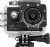 Mobile Gear Gyro Anti-Shake 4K HD Waterproof Digital Camcorder With Accessories SJCAM sj5000 X Elite Sports & Action Camera(Black)