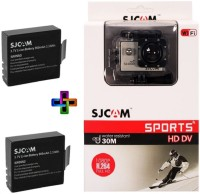 SJCAM Sjcam 4000 Sj _3 Sjcam 4000 Wifi Golden _2 Battery Sports & Action Camera(Gold)