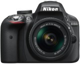 Nikon D3300 DSLR Camera (Body with AF-P ...