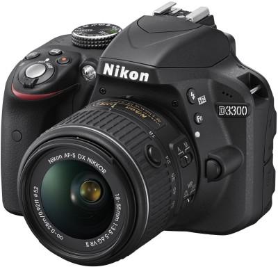Nikon D3300 (Body with 18-55 mm VR Kit Lens) DSLR Camera
