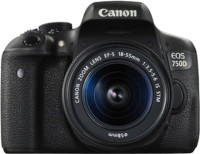 Canon EOS 750D (Kit -EF-S 18 - 55 mm IS STM) DSLR Camera(Black)