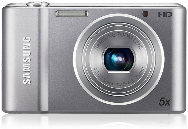 Samsung ST66 F = 4.5 ~ 22.5mm (35mm film equivalent : 25 ~ 125mm) Point & Shoot Camera(Silver)