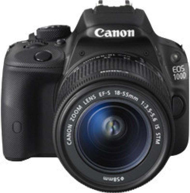 canon eos 100-d camera ,18-55 i.s stm lens 2year canon india warranty 4-gb card