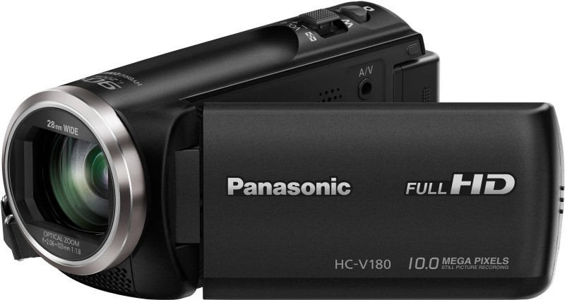 Panasonic VIDEO CAMERA HC-V180 Full HD 28mm WIDE LENS Camcorder Camera HC-V180 Full HD