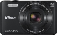Nikon Coolpix S7000 Point & Shoot Camera(Black)