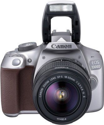 Canon EOS 1300D Kit (EF-S 18 - 55 IS II) DSLR Camera(Grey)