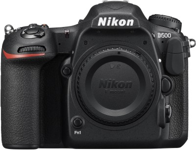 Nikon D500 Body DSLR Camera(Black)