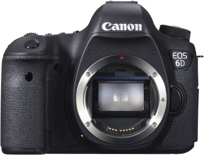 Canon EOS 6D DSLR Camera(Black)