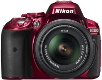 Nikon D5300 DSLR Camera (Body only)(Red)