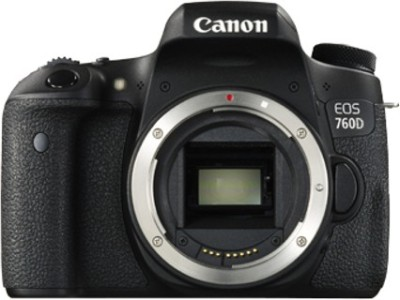 Canon EOS 760D (Body only) DSLR Camera(Black)