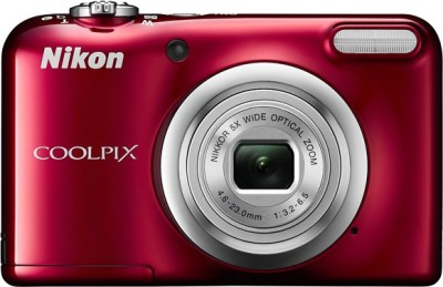 Nikon Coolpix A10 Point and Shoot Camera(Red 16.1 MP)
