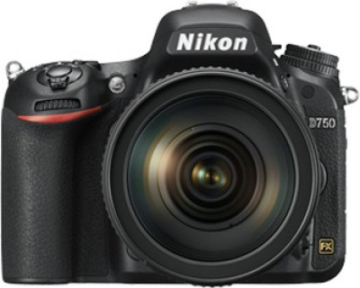 Nikon D750 DSLR Camera (Body only)(Black)