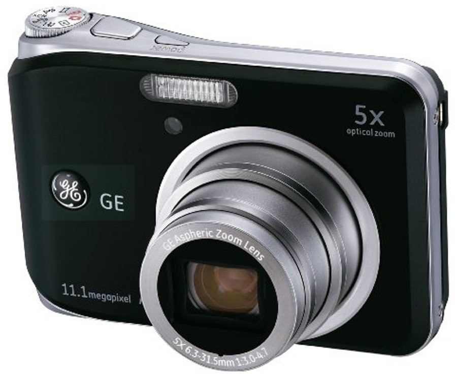 GE A1150 Black 6.3 - 31.5mm Point & Shoot Camera(Black)