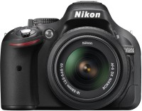 Nikon D5200 DSLR Camera (Body with AF-S DX NIKKOR 18-55 mm F/3.5-5.6G VR II Lens)(Black)