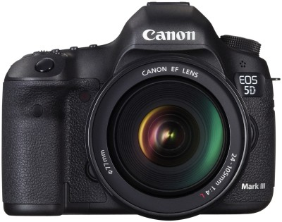 Canon EOS 5D Mark III (Kit Body with EF 24-105 mm f/4L IS USM) DSLR Camera