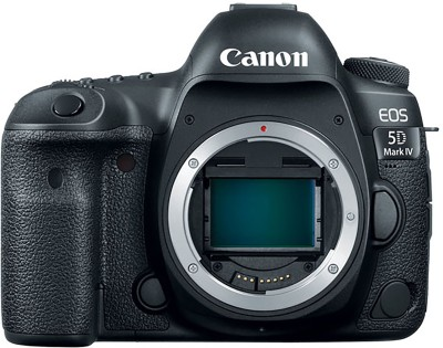 Canon 5D Mark IV Body DSLR Camera(Black)