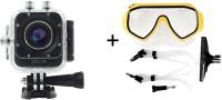 Sjcam Sj Sjcam M10 Plus Dive Mask Gopro Mount _1 170  A  HD wide-angle lens Sports & Action Camera(Black)