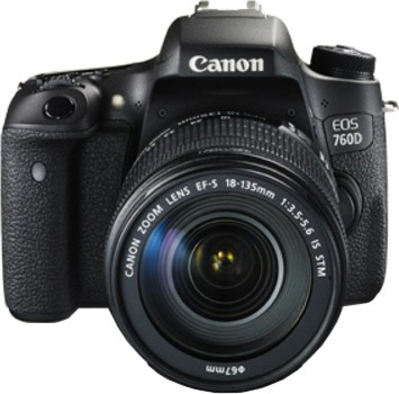 canon eos 760d dslr camera kit(ef-s18-135 is stm)@ 24.2mp @ digic 6 processor