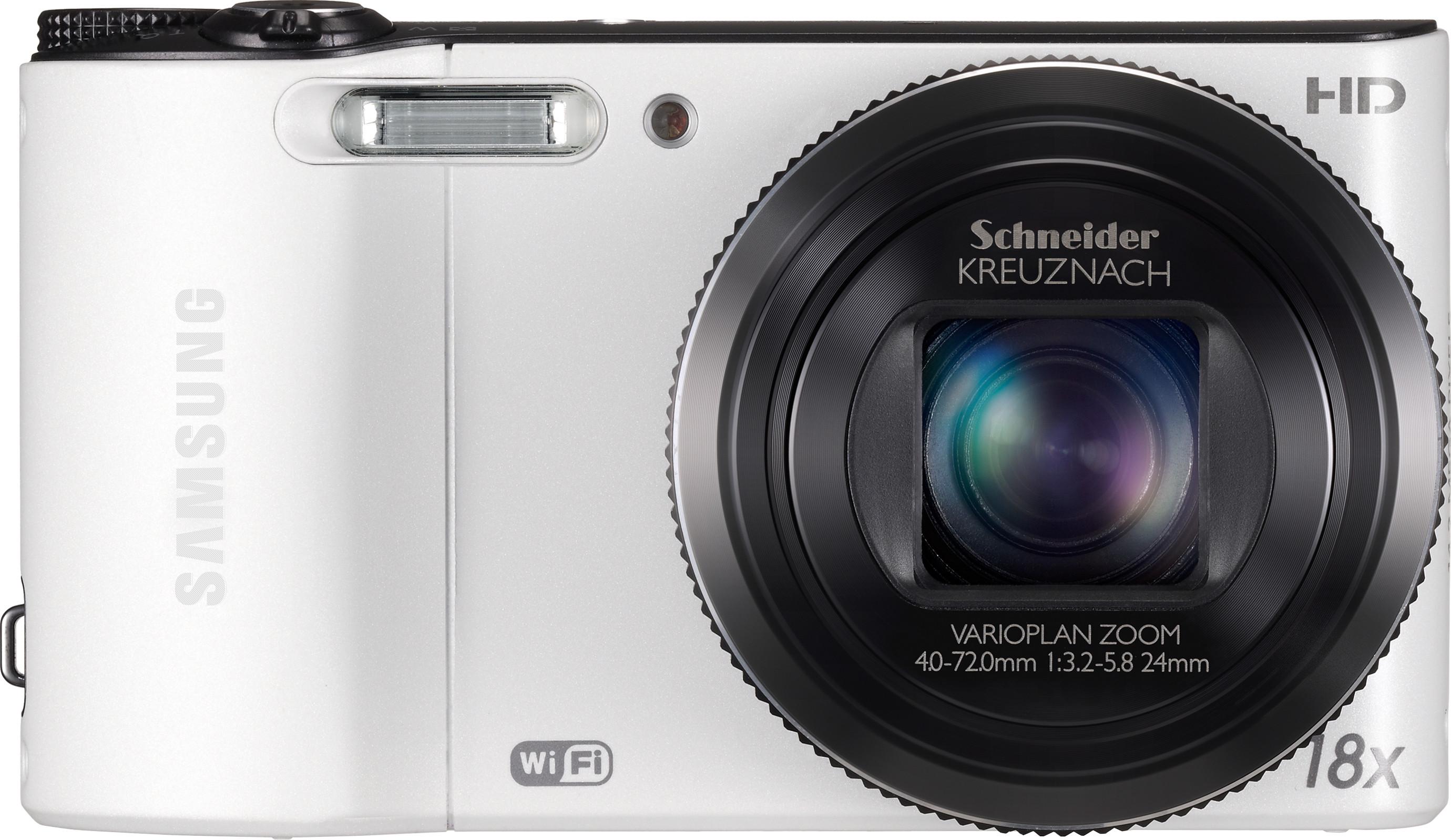 SAMSUNG WB150F Point & Shoot Camera(White)