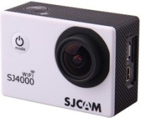 SJCAM SJ4000 WIFI Lens f= 2.99mm /F= 2.8/170� Sports & Action Camera(White)