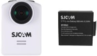 SJCAM sjcamm20 _016_Battery Lens f  2.99mm     Camcorder Camera(White)